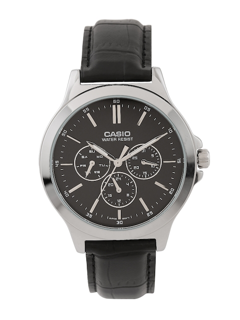 CASIO Enticer Men Black Dial Watch A1176