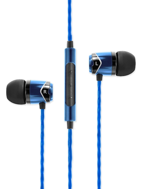 SoundMagic Blue Earphones With Mic SM-E10C
