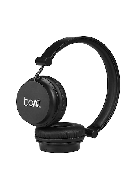 boAT Unisex Black Rocker 400 Wireless Headphones