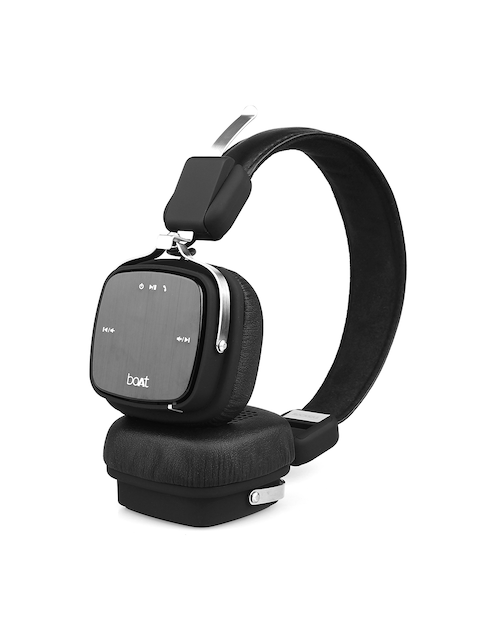 boAt Unisex Black Rockerz 600 Wired & Wireless Bluetooth Headphones With Mic
