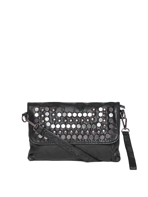 Buy Red Pout Black Studded Sling Bag - Handbags for Women | Myntra