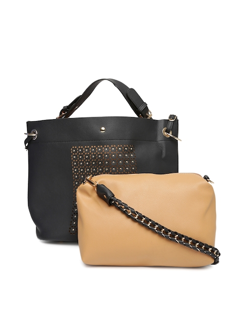4d5281c4355f Buy Now · Black Studded Shoulder Bag with Pouch