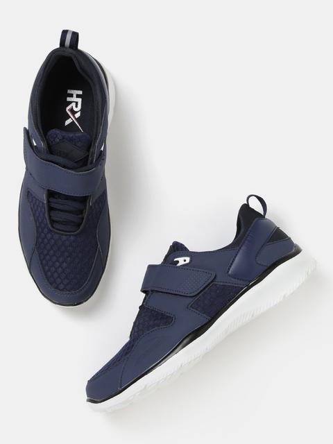 HRX by Hrithik Roshan Men Navy Solid Sneakers