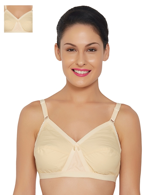 f666221b5f Libertina Kriss Cross Pack of 2 Nude-Coloured Full-Coverage Bras KC03BEG