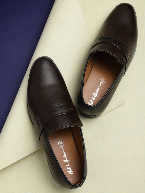 Mast & Harbour Men Coffee Brown Loafers