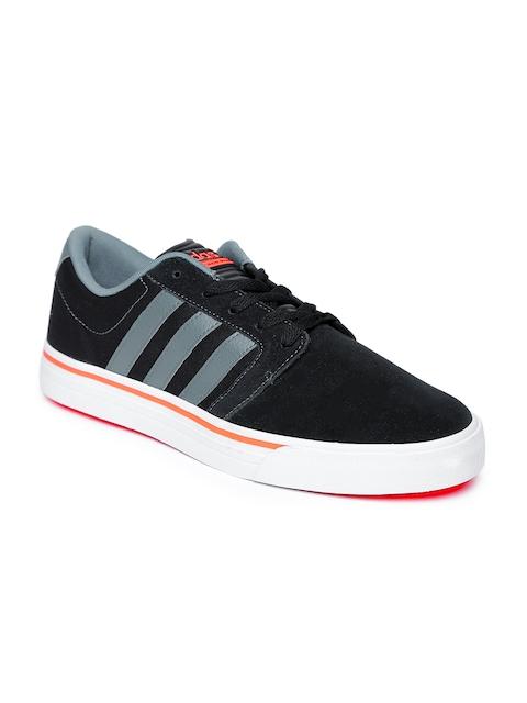 Adidas NEO Men Black Cloudfoam Super Skate Shoes