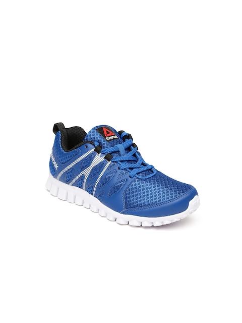 finest selection b1165 9af77 Reebok Girls Blue Arcade Runner LP Running Shoes