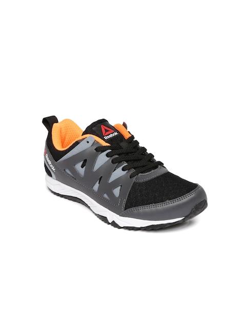 new concept f1ae6 77296 Reebok Girls Grey Run Supreme 3.0 MT JR Running Shoes