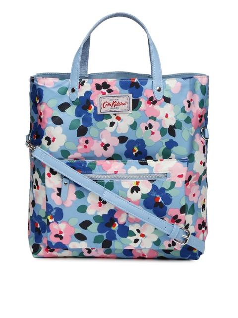 Cath Kidston Blue Reversible Tote Bag Image