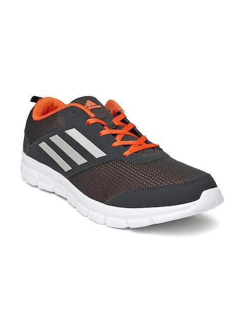 Adidas Men Charcoal Grey Marlin 7.0 M Running Shoes