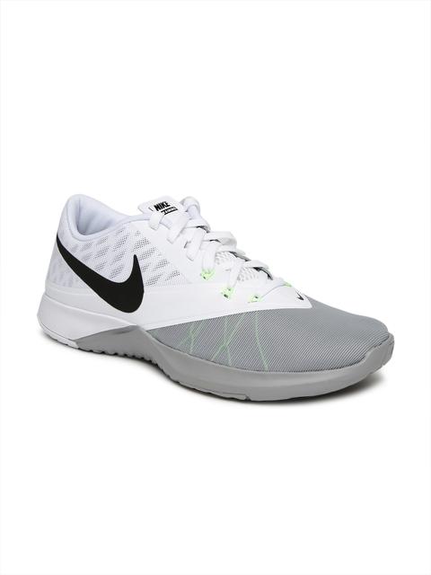 Nike Men White FS LITE TRAINER 4 Training Shoes