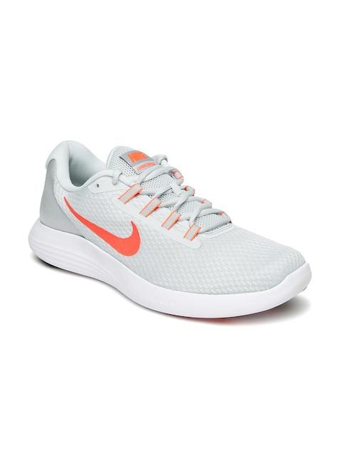 Nike Men Grey Lunar Coverage Running Shoes