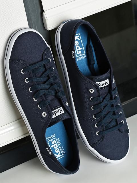 51cbe6e88f Keds Women Navy Kickstart Seasonal Solid Sneakers