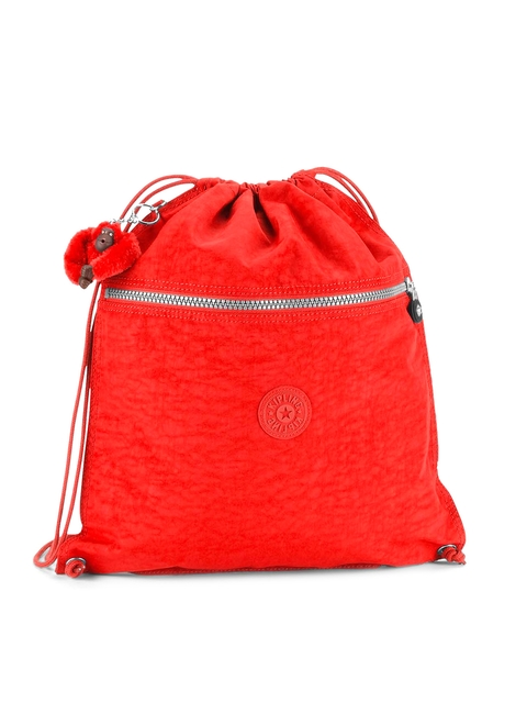 Buy Kipling Girls Red Backpack - Backpacks for Girls | Myntra
