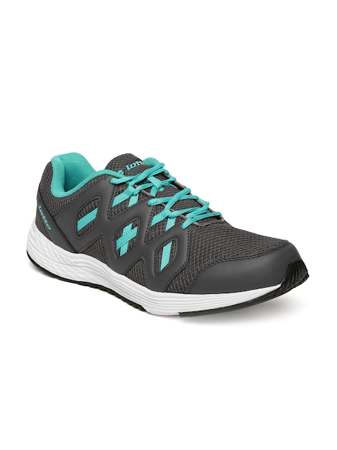 Lotto Men Grey Sleek Running Shoes