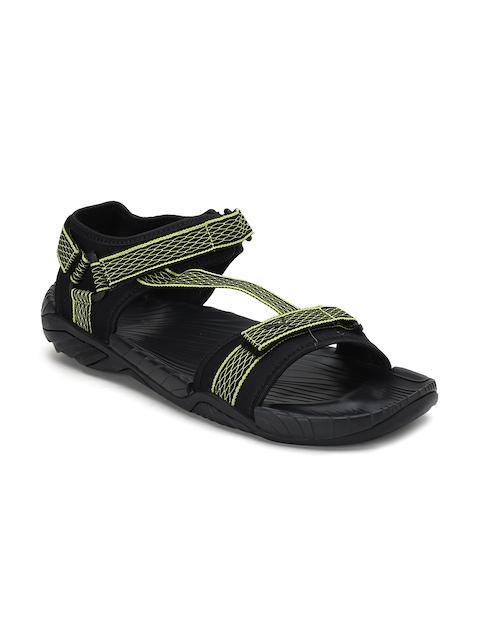 085fd211de91 PUMA Men Black   Green Aqua IDP Sports Sandals