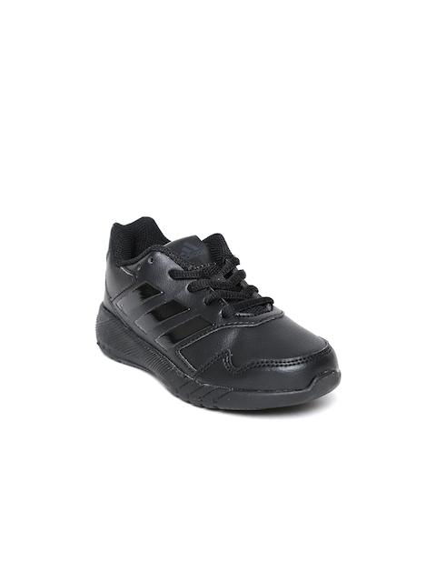 san francisco 3f3fe b62fe Adidas Kids Black Altarun K Running Shoes