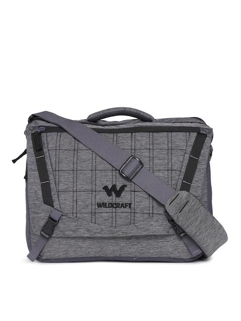 Wildcraft Unisex Grey Messenger Bag