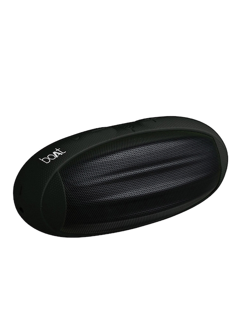 boAt Black Rugby Wireless Portable Bluetooth Speaker