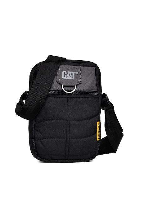 CAT Men Black Messenger Bag
