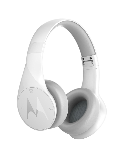 Motorola White Wireless Pulse Escape Bluetooth Over-Ear Headphones 5012786036888