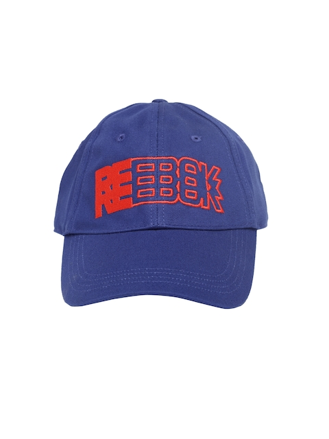 d81d43afd21 Reebok Unisex Blue WR Graph Embroidered Baseball Cap