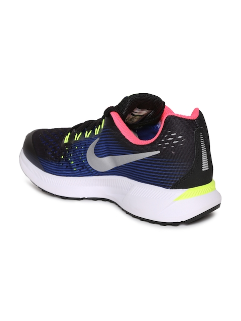 1f340b85ac7f Nike Boys Black Zoom Pegasus 34 Running Shoes Price in India May ...