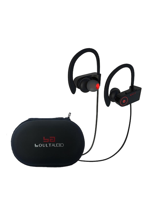 Boult Black Muse Bluetooth Waterproof Earphones with Mic