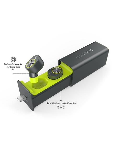 Boult Unisex Charcoal Grey True Wireless HD In Ear Twin...