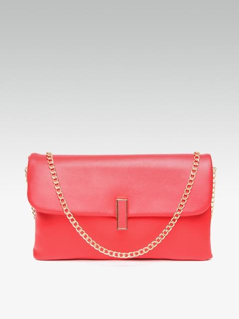 Dorothy Perkins Red Solid Sling Bag Image