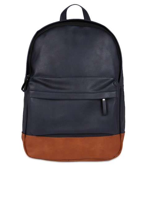 FUR JADEN Unisex Blue Solid Backpack