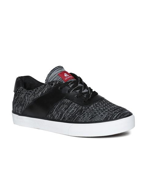 Duke Men Black & Grey Sneakers