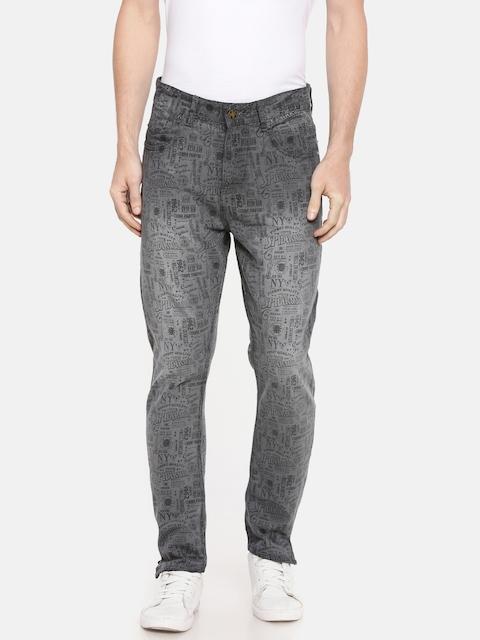 Kook N Keech Marvel Men Grey Regular Fit Mid-Rise Clean Look Jeans