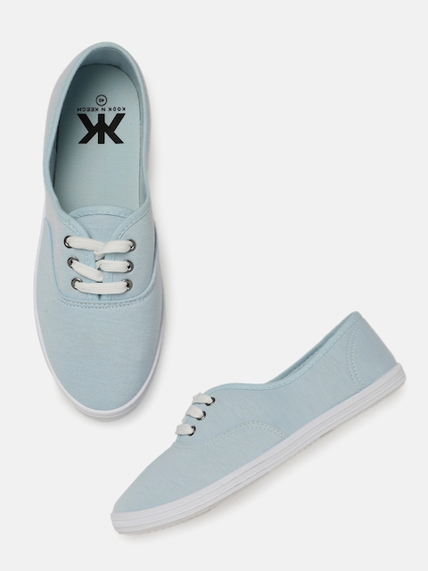 Kook N Keech Women Blue Sneakers