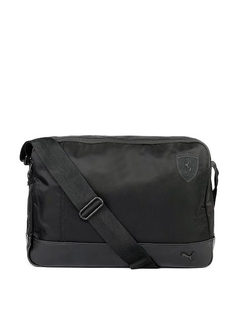 404cbd1a77f8 Puma Unisex Black Solid SF LS Reporter Messenger Bag Image