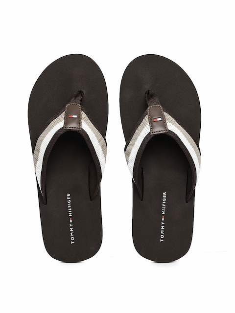 coupon code reliable quality best price Men Tommy Hilfiger Slippers & Flip Flops Price List in India ...