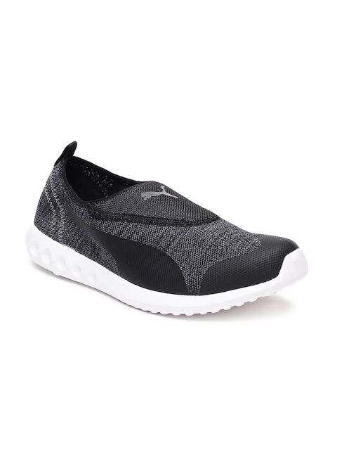 Puma Men Black Concave 2 Slip On Walking Shoes