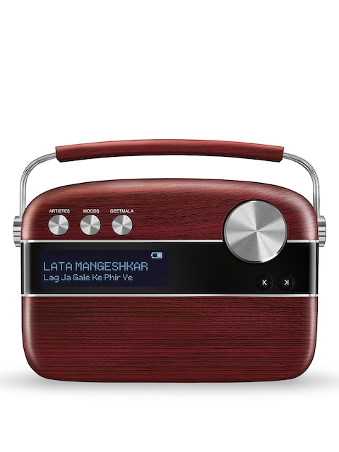 Saregama Carvaan Red Portable Digital Music Player