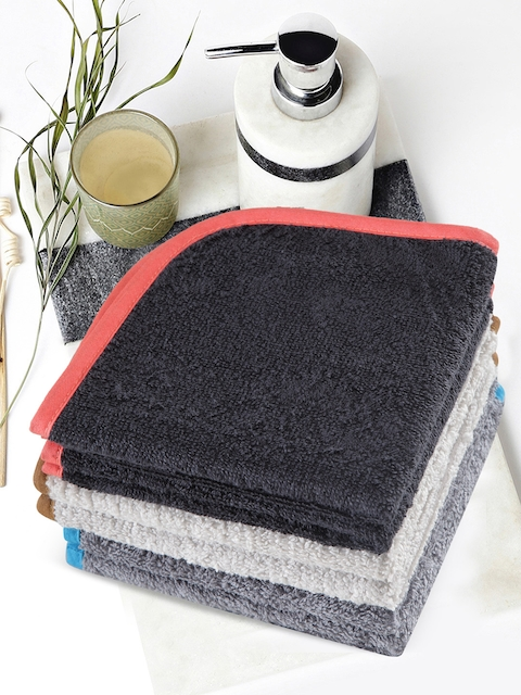 Trident Set of 6 440 GSM Cotton Face Towels