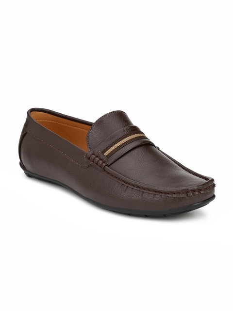 Guava Men Brown Loafers