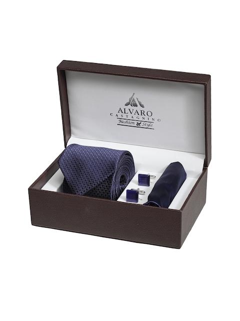 Alvaro Castagnino Men Blue Accessory Gift Set