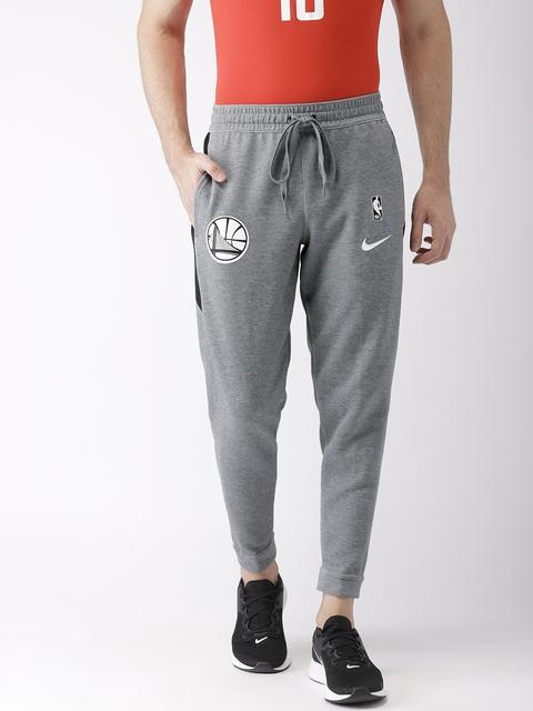 419a362d9412f Nike Men Grey Solid Standard Fit DRI-FIT Technology Track Pants