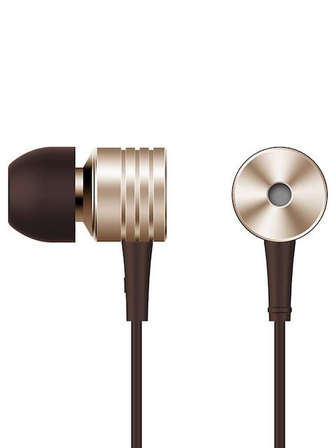 1MORE Unisex Gold Piston **** Earphones with Mic & Volume Rockers