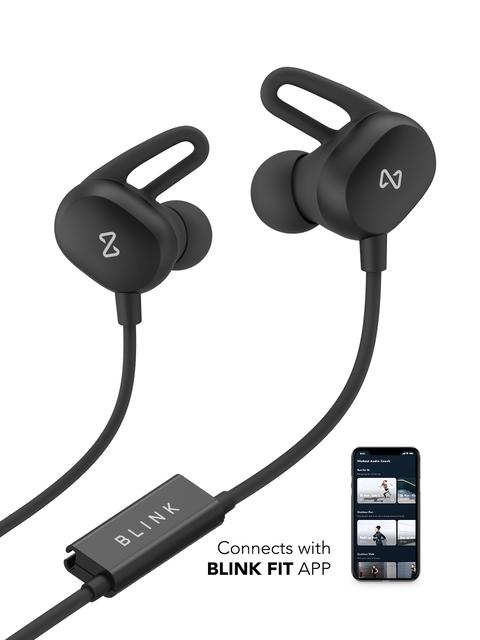 Blink Play - Carbon Black Fitness Earphones