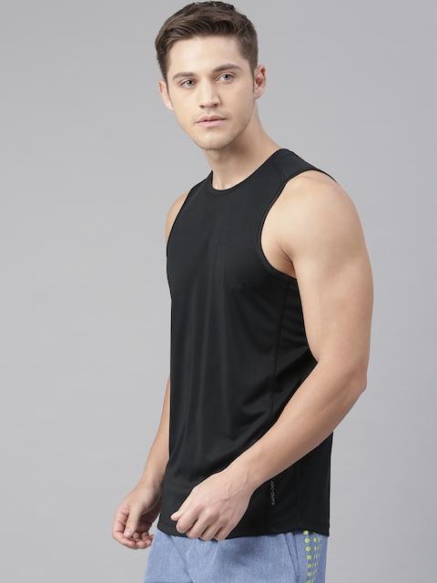 HRX by Hrithik Roshan Men Black Advanced Rapid Dry Round Neck Training T-shirt