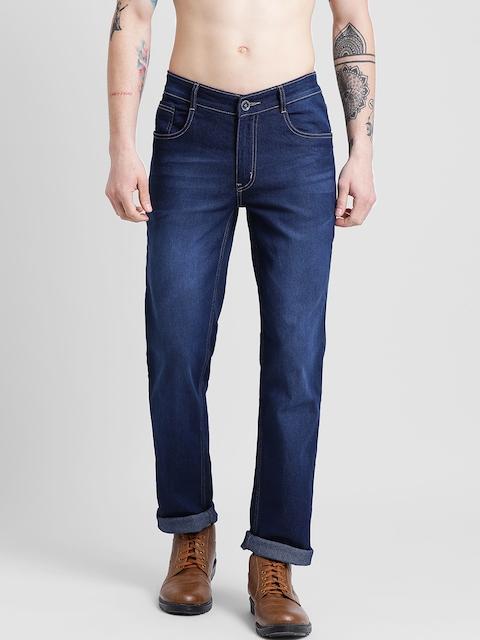 COBB Men Blue Slim Fit Mid-Rise Clean Look Jeans