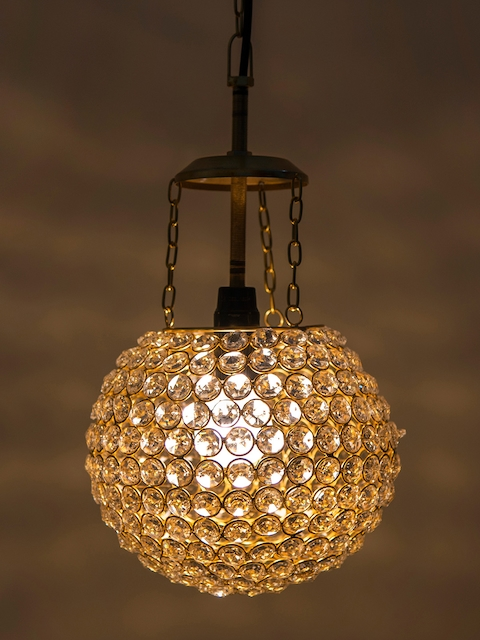 Homesake Gold-Toned Solid Hanging Wall or Ceiling Lamp