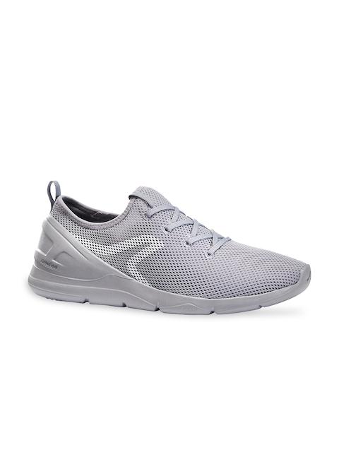 Newfeel By Decathlon Men Grey Mesh Walking Non-Marking Shoes