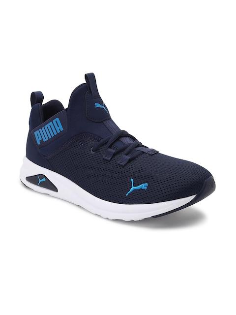 Puma Men Navy Blue Zeta Long Distance Running Shoes