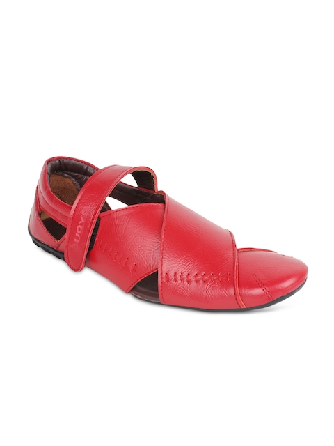 Guava Men Red Sandals